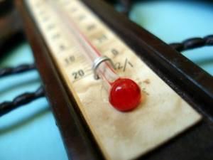 Температура при переломе