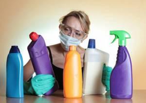Химические вещества, входящие в состав бытовой химии, вредят репродуктивной функции