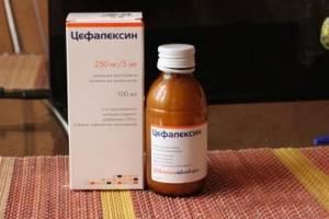 Антибиотики для детей в суспензии
