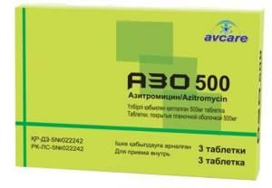 Азитромицин: инструкция по применению, при коронавирусе, аналоги антибиотика