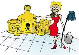 О вреде бытовой химии для здоровья человека. Как выбрать или сделать самим безопасные чистящие средства