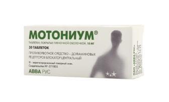 Обзор таблеток от тошноты и рвоты. Когда показаны такие препараты